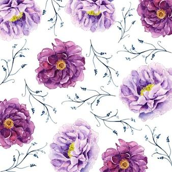 Acquerello 2019 sfondo floreale