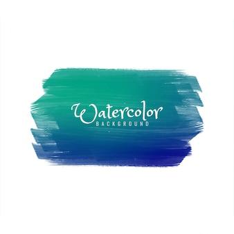 Acquerello astratto colorato