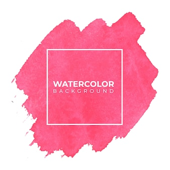 Acquerello astratto rosa sfondo, pittura a mano. spruzzi di colore sul libro bianco