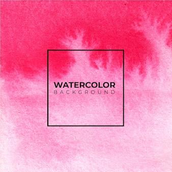 Acquerello astratto rosa sfondo, pittura a mano. spruzzi di colore sulla carta.