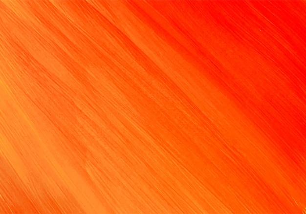 Acquerello astratto sfondo arancione