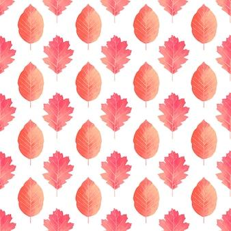 Acquerello autunno lascia la priorità bassa del reticolo