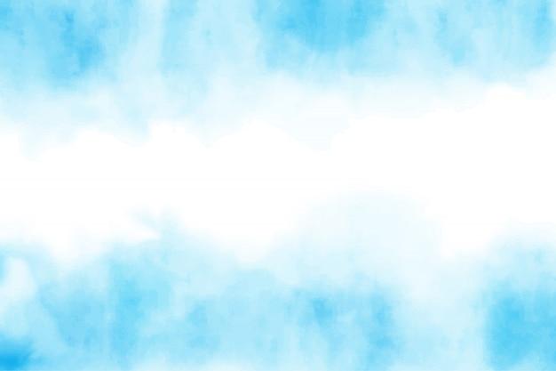 Acquerello blu splash sfondo