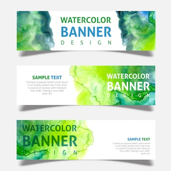 Acquerello Business Banner Design