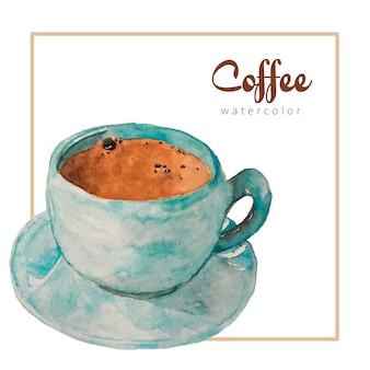 Acquerello di caffè