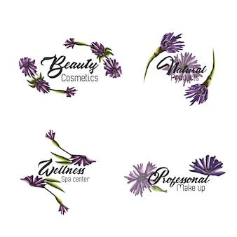 Acquerello floral collection logo