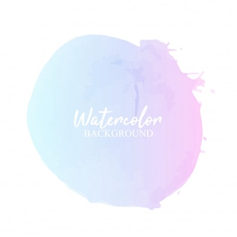Acquerello pastello blu rosa