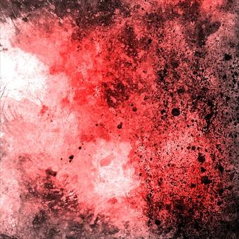 Acquerello rosso grungy backgorund multiuso