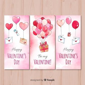 Acquerello san valentino banner