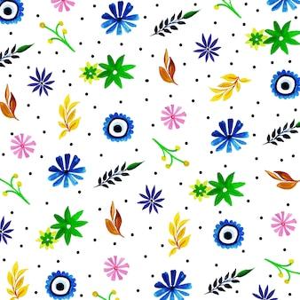 Acquerello sfondo floreale multiuso