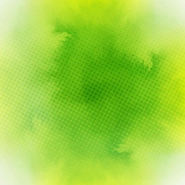 Acquerello sfondo verde