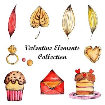 Acquerello valentine elements collection