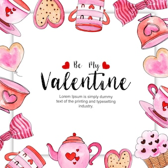 Acquerello Valentine Frames