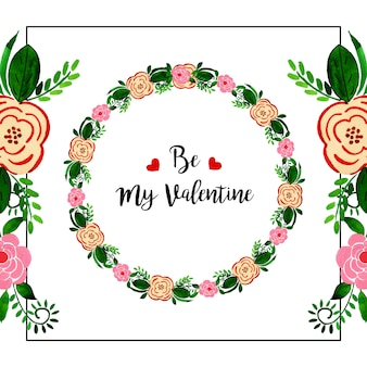 Acquerello Valentine Wreaths