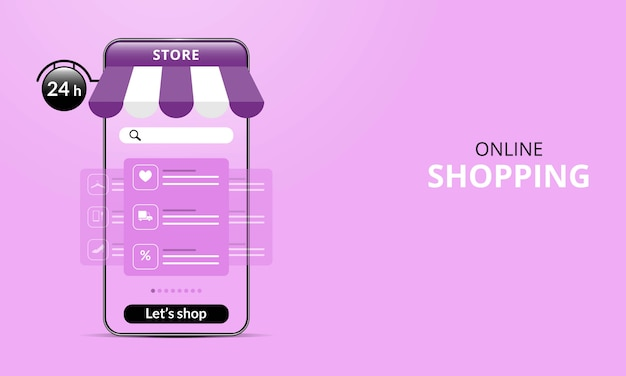 Acquisti online su sito web o applicazione mobile