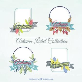 Adesivi decorativi con elementi floreali