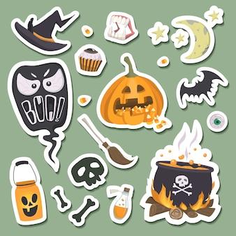 Adesivi di halloween