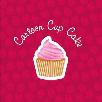Adesivo base cupcake