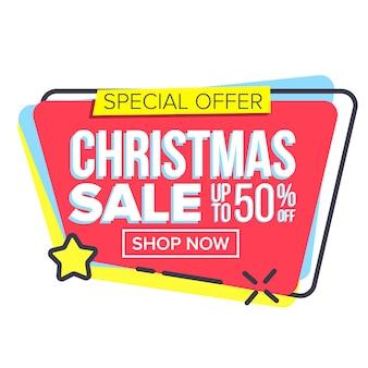 Adesivo natalizio grande vendita