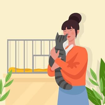 Adotta un concetto di animale domestico