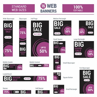 Adsense big red banner di vendita tutto il formato