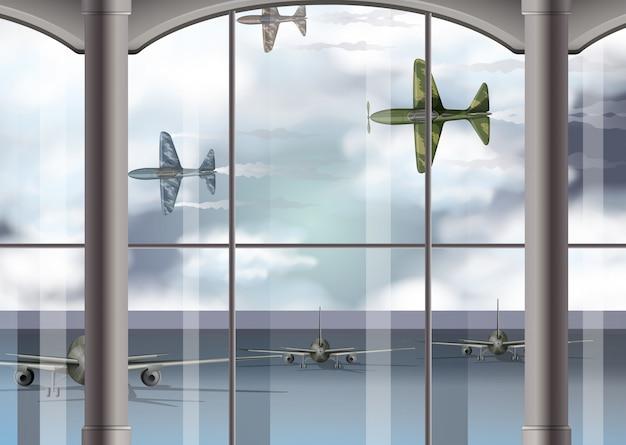 Aerei militari all'aeroporto