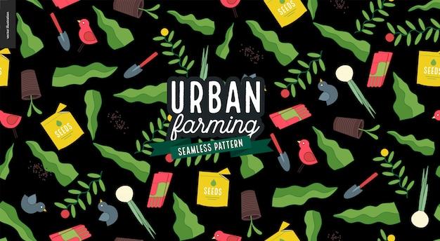 Agricoltura urbana e modello di giardinaggio
