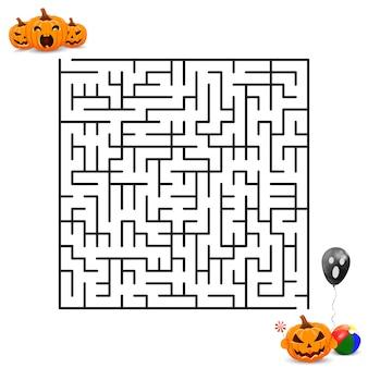 Aiuta le zucche ad arrivare alla felice festa di halloween.