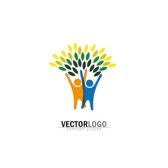 Albero di disegno logo