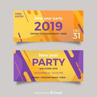 Aletta di filatoio del partito di nuovo anno 2019