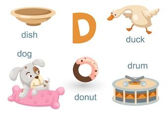 Alfabeto D