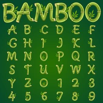 Alfabeto di bambù