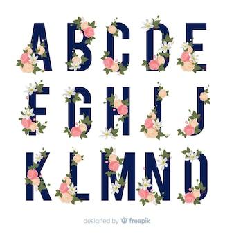 Alfabeto floreale