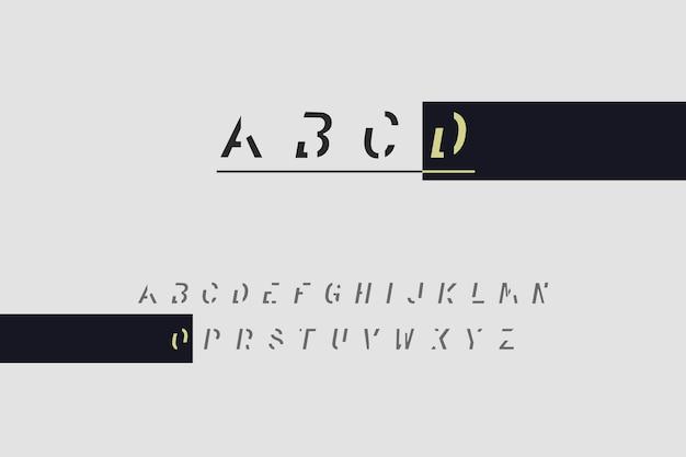 Alfabeto minimal astratto