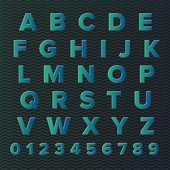Alfabeto tipografico