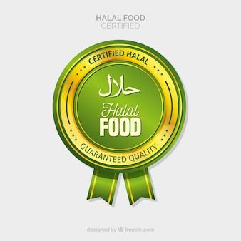 Alimento halal certificato
