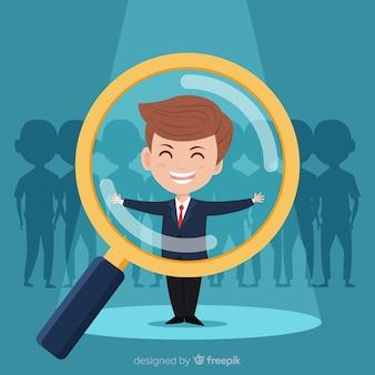 Alla ricerca di uno sfondo di talento