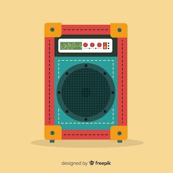 Altoparlante design piatto per la musica