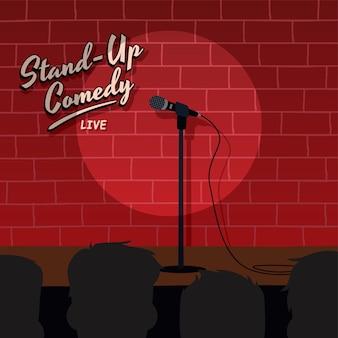 Alzati in piedi comica