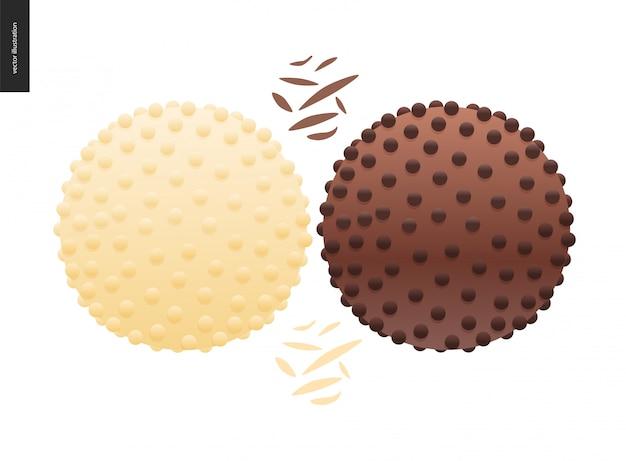 Amare il cioccolato primaverile