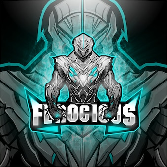 Amazing esport logo ferocious team