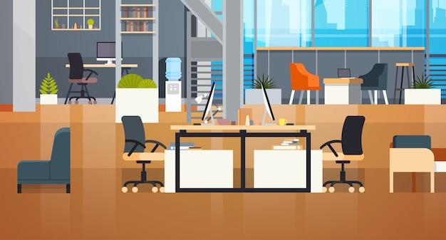 Ambiente di lavoro creativo di coworking office interior modern coworking centre