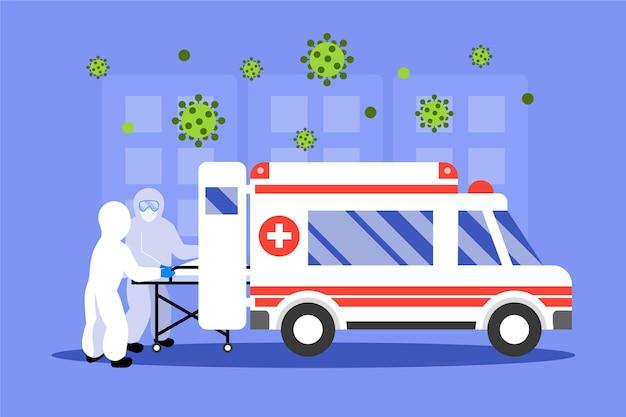 Ambulanza di emergenza