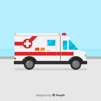 Ambulanza in stile piano