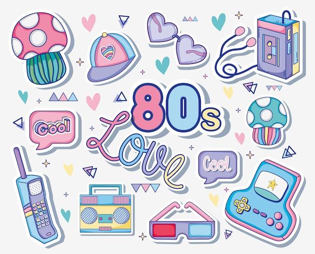 Amo i cartoni animati degli anni '80