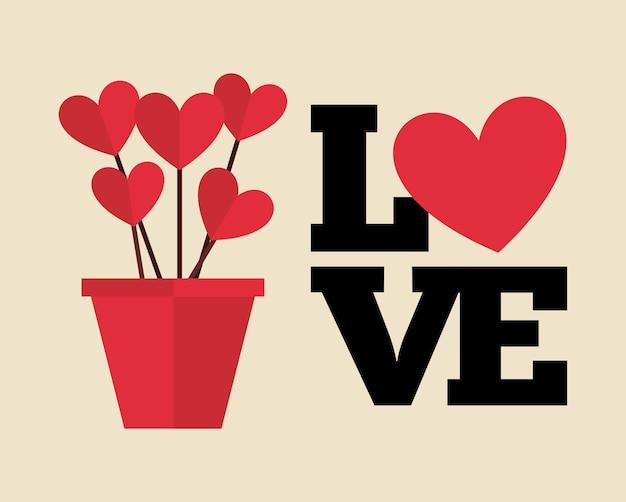 Amore design della carta