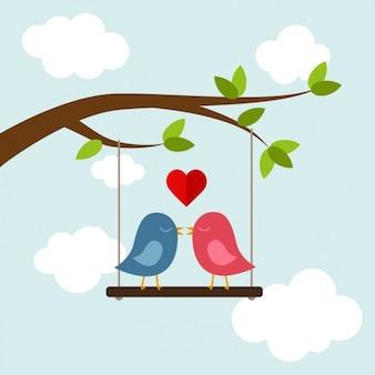 Amore disegno di sfondo