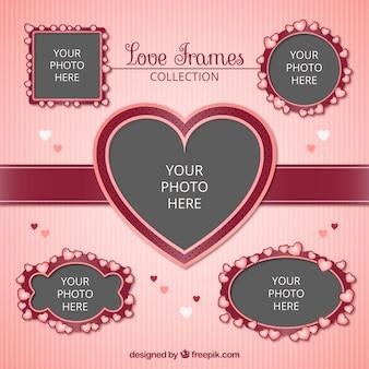 Amore set di frame