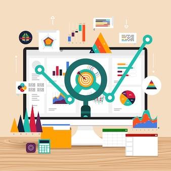 Analisi dei dati di concept design piatto