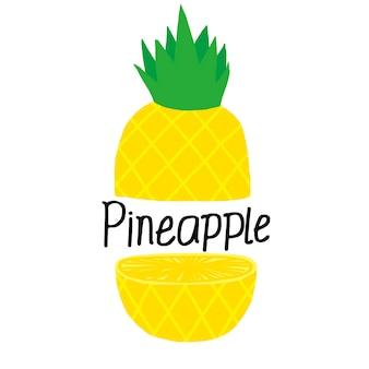 Ananas vettoriale
